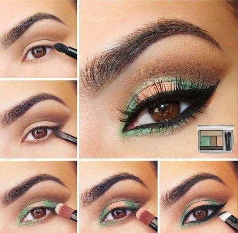 آموزش تصویری آرایش چشم 2015 (سری2)