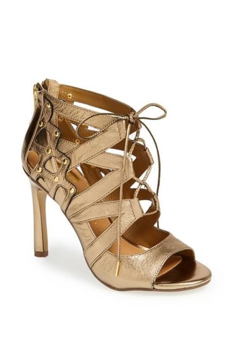 مدل کفش تابستانی پاشنه بلند دخترانه2015
