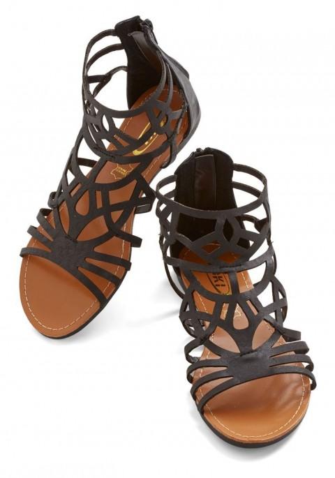 مدل کفش های تابستانی بدون پاشنه 2015