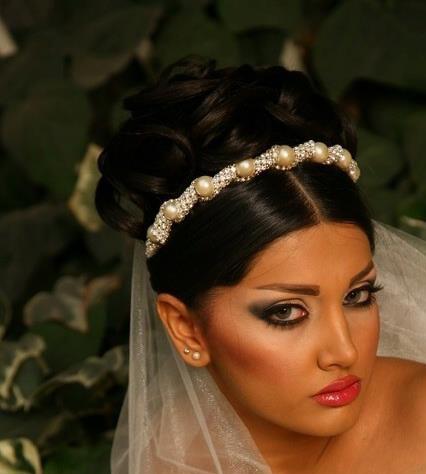 مدل ارایش عروس
