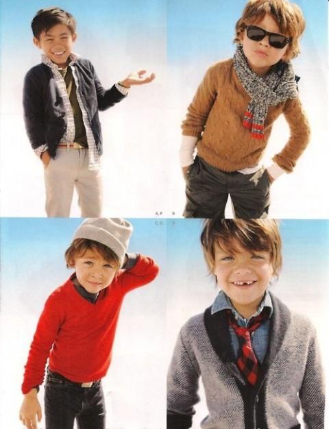 استایل های بچگانه پسرانه 2015