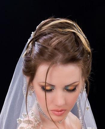 مدل های جدید موی عروس ایرونی