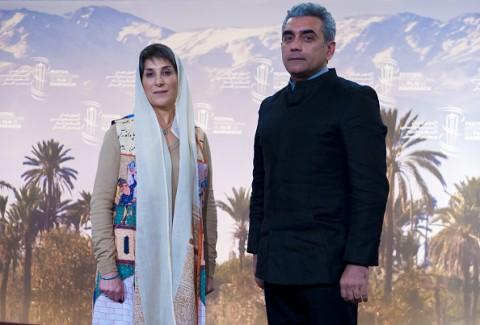 فاطمه معتمدآریا در مراکش
