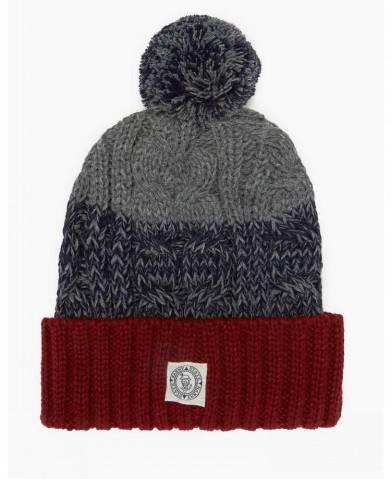 تصاویر کلاه مردانه طرح بافتنی 2015