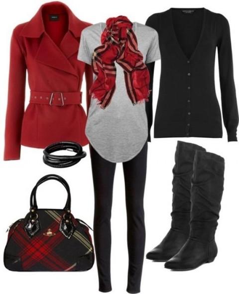 ست لباس زمستانی زنانه 93