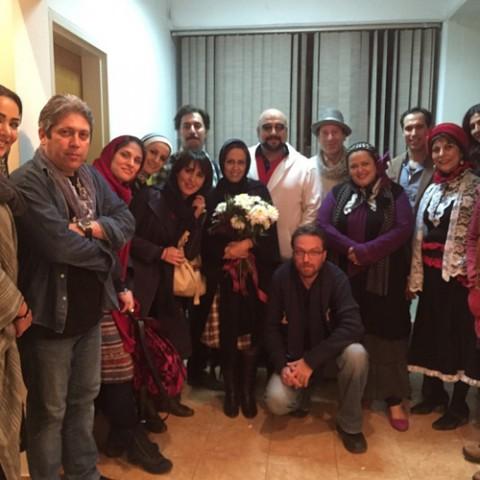 جشن تولد 40سالگی بهاره رهنما