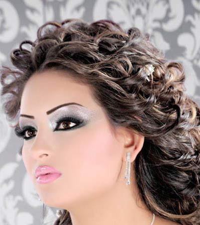 مدل ارایش عروس ایرانی