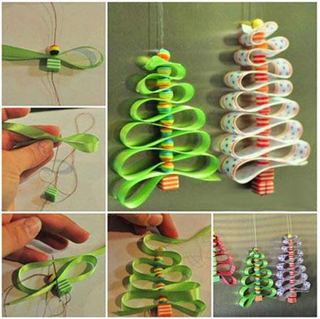 طرز ساخت درخت کریسمس با پارچه