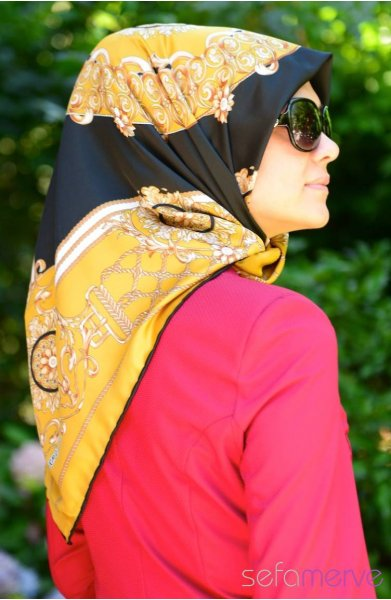 مدل دستمال طرح دار دخترانه 2015