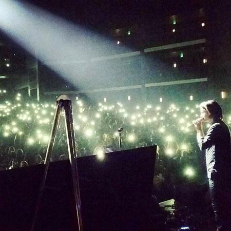 عکس های کنسرت محسن یگانه در آمریکا