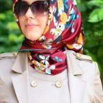 مدل دستمال بهاری دخترانه