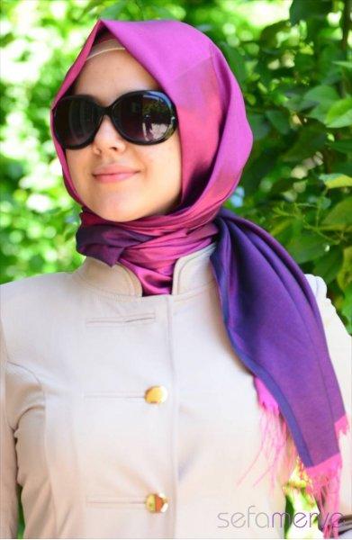 مدل شال های ترکی زنانه 2015