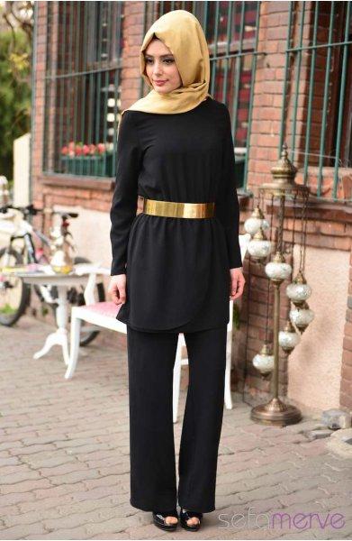 مدل های جدید مانتو مشکی زنانه (4)