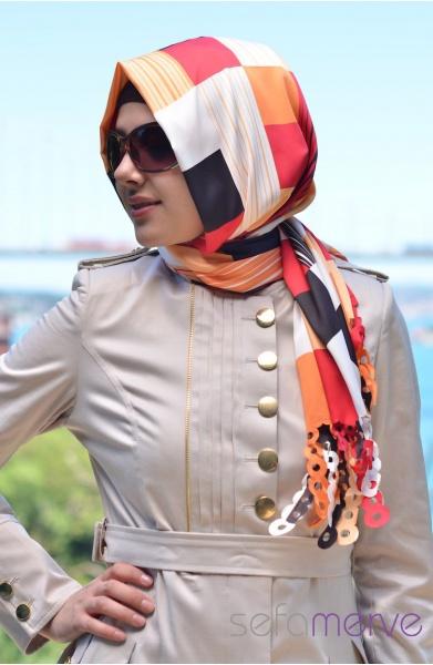 مدل شال بافتنی دخترانه (2)