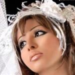 ارایش صورت عروس
