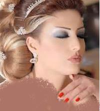 ارایش صورت عروس ایرانی
