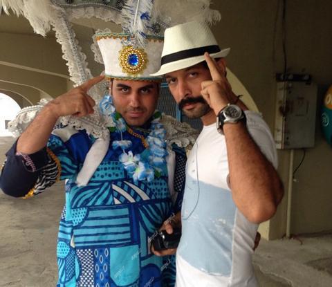 عکس های منشوری و دیده نشده بازیگران در برزیل