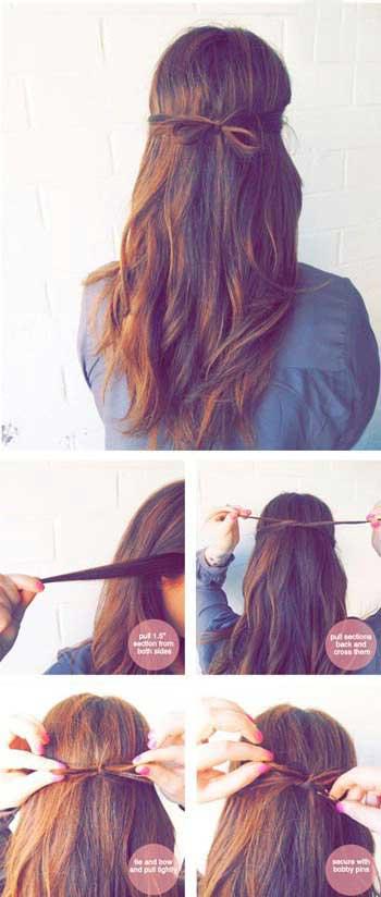مدل موهای 5 دقیقه ای!