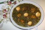 طرز تهیه خورش آلو اسفناج، به روش گیاهخواری