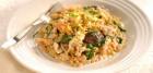 طرز تهیه ریزوتو مرغ و قارچ