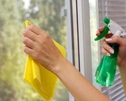 چگونه شیشه های خانه را برق بیاندازیم؟