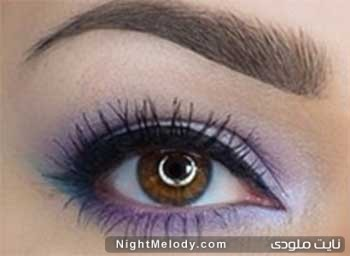 آموزش آرایش چشم مجلسی عید نوروز 95