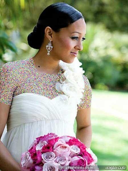 کلکسیون مدل مو عروس برای خانم هایی با پوست سبزه
