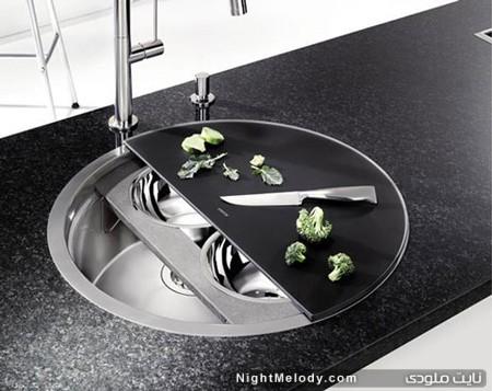 مدل سینک های شیک آشپزخانه