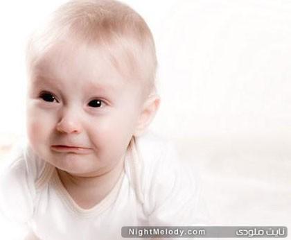 انواع گریه نوزاد