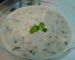 طرز تهیه سوپ شیر به سبک رستورانی ها
