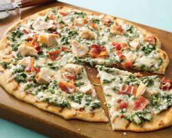 طرز تهیه پیتزای سبز با ماهی