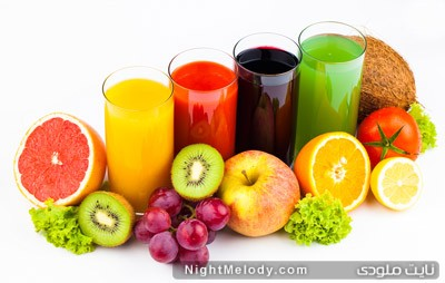 گرفتن آبِ میوه ها؛ خوب یا بد؟