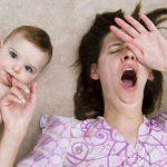 راهکارهایی برای درمان بی خوابی بعد زایمان