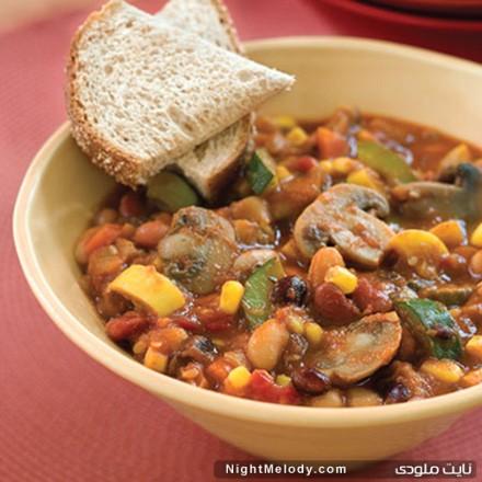 طرز تهیه خوراک تند سبزیجات رژیمی