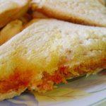 طرز تهیه ساندویچ نان تست با نخود