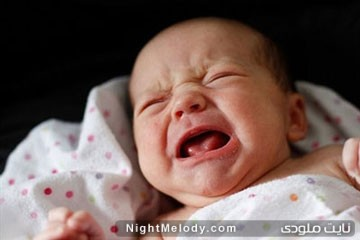 چرا نوزادم عصبانی است؟