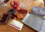 نحوه خشک کردن میوه ها در آفتاب