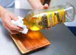 ظروف چوبی آشپزخانه را مثل روز اول نو کنید!