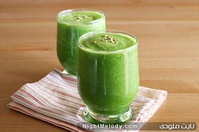 نوشیدنی سبز لاغر کننده