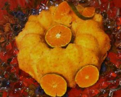 طرز تهیه کیک نارنگی