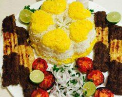 طرز تهیه کباب تابه ای دو رنگ