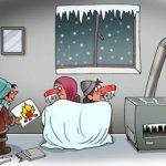 روش های گرم کردن خانه بدون وسایل گرمایشی!