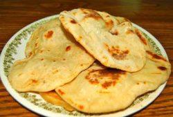 طرز تهیه نان سیر بندر ترکمنی ها