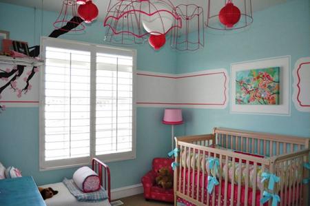 اتاق نوزاد پسر به رنگ صورتی، مگر می شود؟