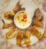 طرز پخت ماهی قزل آلا داخل فر