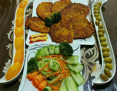 طرز تهیه کتلت شیرازی