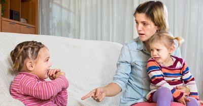 چه زمانی می توان کودک را تنبیه کرد؟