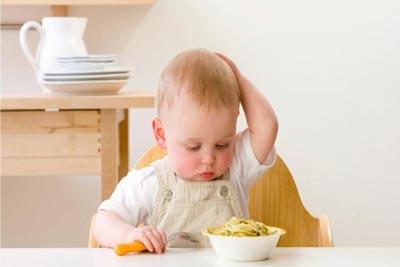 علت بیاشتهایی کودک