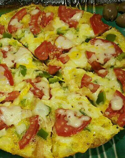 طرز تهیه پیتزا تخم مرغی به روش دیگر