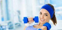 پوستی روشن با ورزش